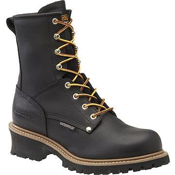 Carolina Shoe Mens 8 Steel Toe Waterproof Insulated Logger Boot, 600g