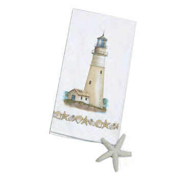 Kay Dee Designs Coastal Lighthouse Flour Sack Towel