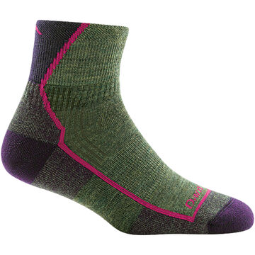 Darn Tough Vermont Womens Hiker Quarter Cushioned Sock