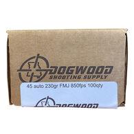 Dogwood Shooting Supply 45 ACP 230 Grain FMJ Handgun Ammo (100)