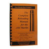 Loadbooks USA The Complete 44 Marlin Reloading Manual
