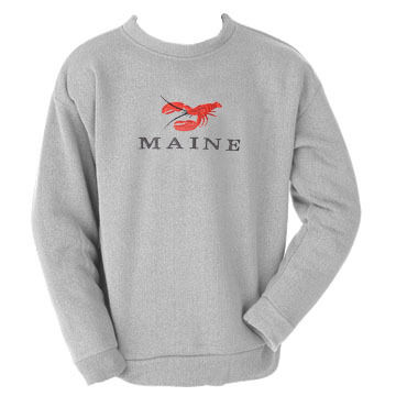 ESY Mens Lobster Crew Neck Sweatshirt