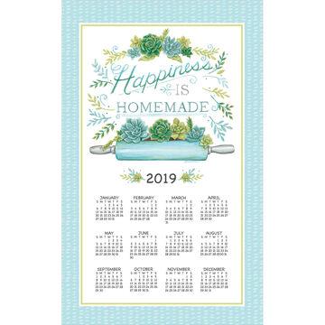 Kay Dee Designs 2019 Garden Succulents Calendar Towel