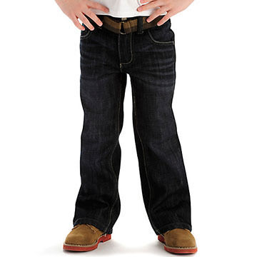 Lee Boys' Dungarees Relaxed Bootcut Jean
