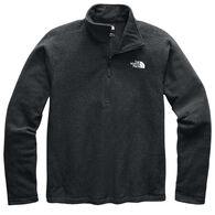 The North Face Men's Textured Cap Rock 1/4-Zip Fleece Shirt