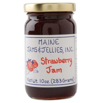 Maine Maple Strawberry Jam -10 oz.