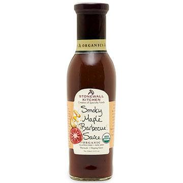 Stonewall Kitchen Organic Smoky Maple BBQ Sauce, 11 oz