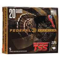 "Federal Premium Heavyweight TSS 20 GA 3"" 1-5/8 oz. #8 & #10 Shotshell Ammo (5)"