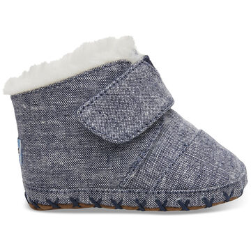 TOMS Infant's Navy Chambray Tiny Toms Cunas