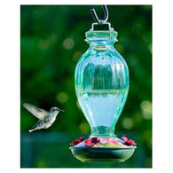 Audubon Fluted Glass Hummingbird Bird Feeder