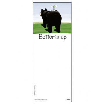 Hatley Bottoms Up Magnetic List Notepad