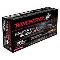 Winchester Razorback XT Lead-Free 223 Rem 64 Grain HP Rifle Ammo (20)