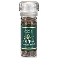 Maine Sea Salt Apple Smoked Salt Refillable Grinder - 3.6 oz.