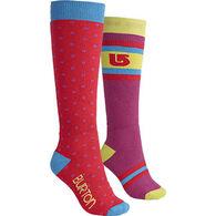 Burton Women's Weekender Sock - 2 Pk