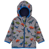 Hatley Toddler Boy's Wild Dinos Microfiber Rain Jacket