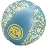 Life is Good Beach Ball