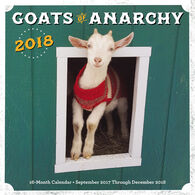 Goats of Anarchy 2018 Wall Calendar by Leanne Lauricella