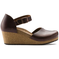Birkenstock Women's Mary Leather Wedge Shoe