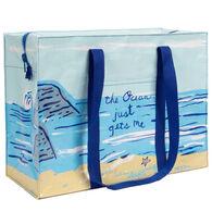 Blue Q Women's The Ocean Just Gets Me Shoulder Tote Bag