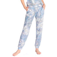 P.J. Salvage Women's Cloudy Days Banded Sleep Pant