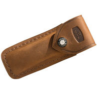Buck 110 Hunter Distressed Leather Folding Knife Sheath