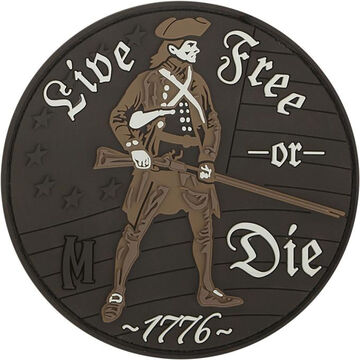 Maxpedition Live Free Or Die Morale Patch