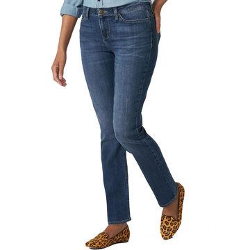Lee Jeans Womens Regular Fit Straight Leg Jean