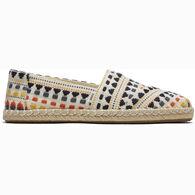 TOMS Women's Alpargata Global Rope Espadrille Shoe