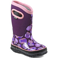 Bogs Girls' Classic Owl Insulated Winter Boot