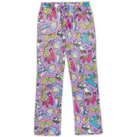 Candy Pink Girl's Rainbow Carnival Pajama Pant