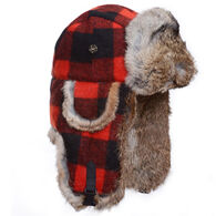 Mad Bomber Youth Lil Wool Bomber Hat with Fur Trim