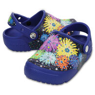 Crocs Boys' & Girls' Fun Lab Lights Fireworks Clog