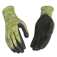 Kinco Women's Polyester Knit Shell & Latex Palm Glove