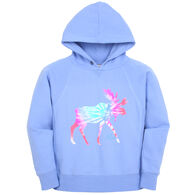 Lakeshirts Girl's Blue 84 Inheritance Moose Sweatshirt