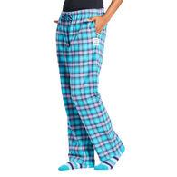Life is Good Women's Island Blue Plaid Classic Sleep Pant