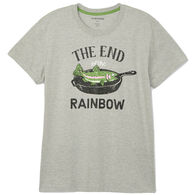 Hatley Little Blue House Men's End Of The Rainbow Sleep Short-Sleeve T-Shirt