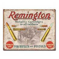 Desperate Enterprises Remington For Rifles & Pistols Tin Sign