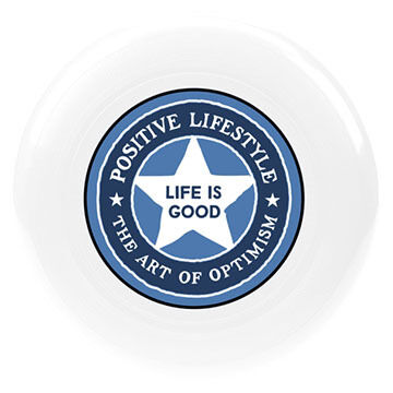 Life is Good Positive Lifestyle Disc