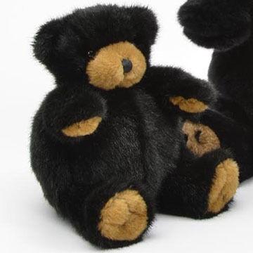 Unipak Designs Plush Black Bear Plumpee