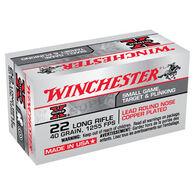 Winchester Super-X 22 LR 40 Grain LRN Ammo (50)
