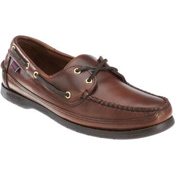 Sebago Mens Schooner Leather Boat Shoe