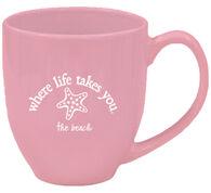 Where Life Takes You Starfish Mug