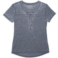 Stillwater Supply Women's Henley Short-Sleeve Shirt