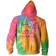 Puppie Love Women's Eternity Tie Dye Hoodie