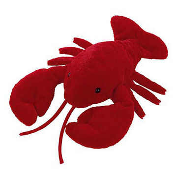 Mary Meyer Larry Lobster Flip Flop Stuffed Animal