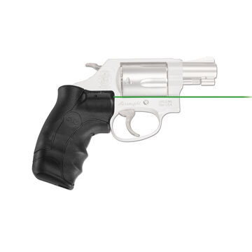 Crimson Trace LG-350G Smith & Wesson J-Frame Round Butt Green Lasergrips Laser Sight