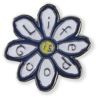 Life is Good Daisy Pin