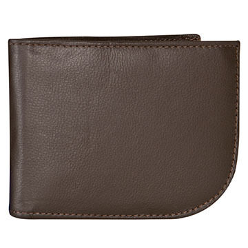 Travelon SafeID Leather Front Pocket Wallet
