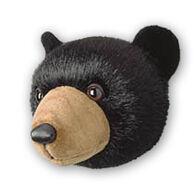 Stuffed Animal House Black Bear Large Wall Toy
