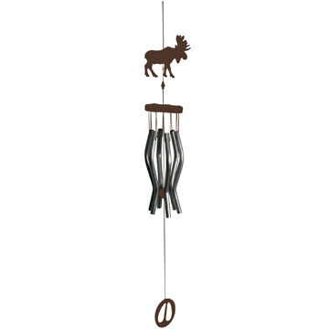 Rivers Edge Moose Windchime